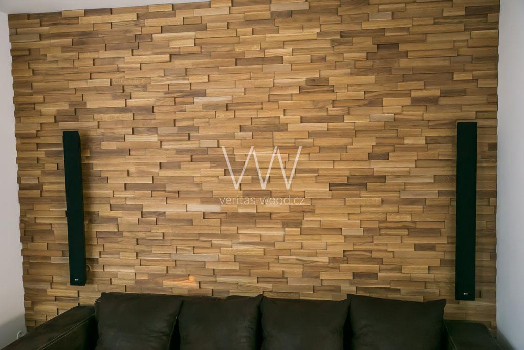 Dřevěné obložení interiéru