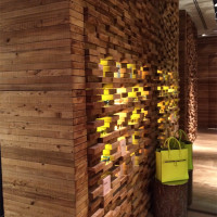 Dřevěné obklady stěn